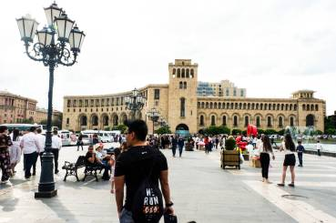 The other view of Republic Square, Yerevan, Armenia