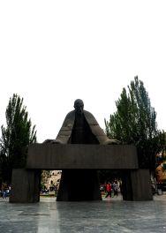 Sculpture of a scholar